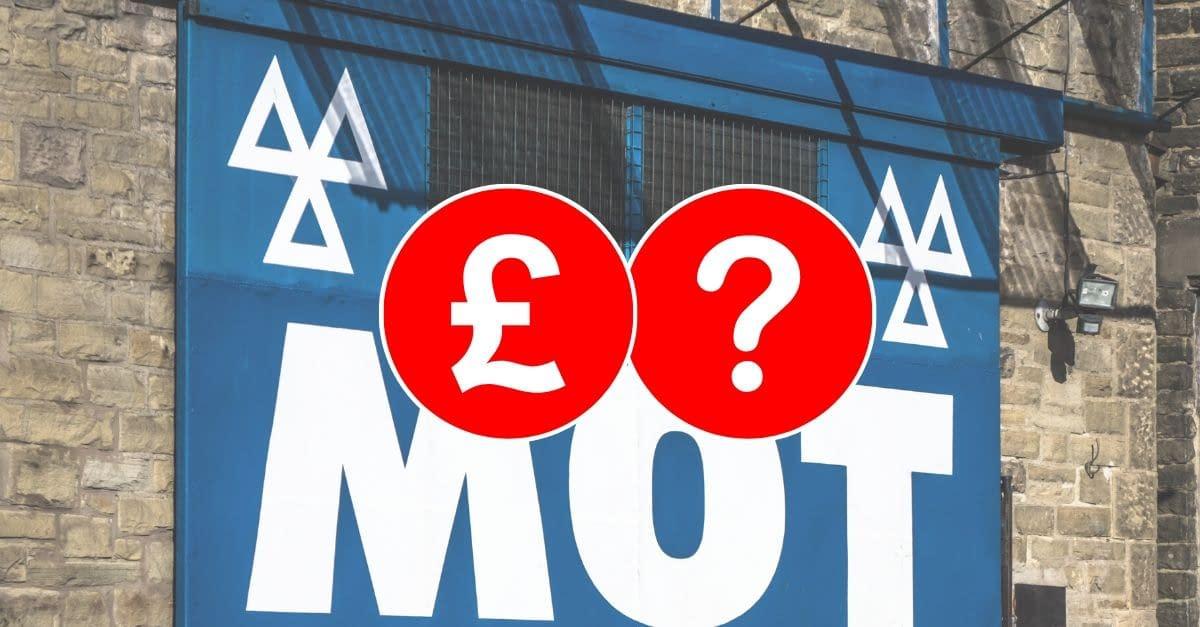 cost of mot