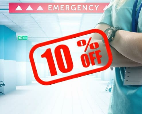NHS Discount & Emergency Services Discount OT and Service in Wakefield