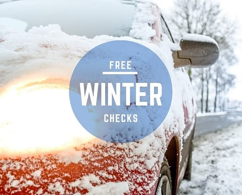 Free Winter Car Checks at Cross Lane Garage Wakefield