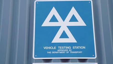 mot car testing station wakefield