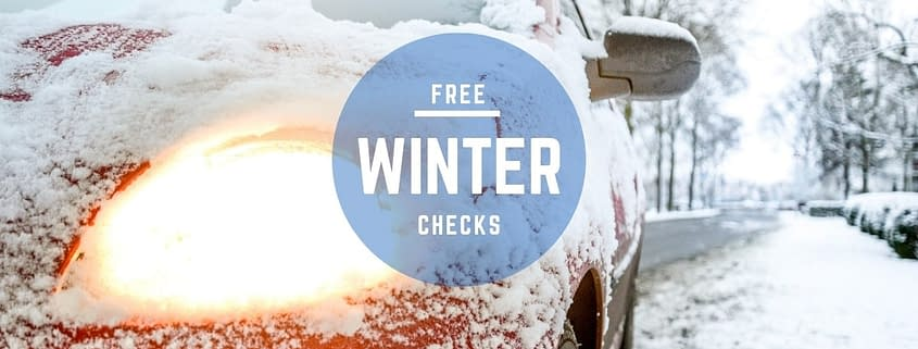 Free Winter Car Checks at Cross Lane Garage Wakefield